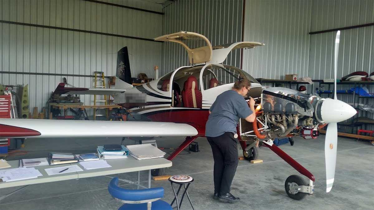 Lisa Burwell, Designated Maintenance Airworthiness Representative, Airworthiness Certification